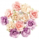Prima Marketing Moon Child Mulberry Paper Flowers - Pearlescent Gamma Ray 12 Stk.