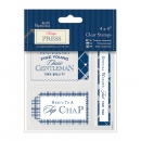 "Papermania Clear Stamp Set 4"" x 4"" - Top Chap"