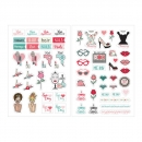 Julie Nutting / Prima Marketing Planner Stickers - Beauty