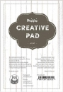 "P13 Mini Creativ Pad - Wood 4"" x 6"""