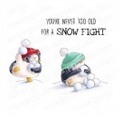Stamping Bella - Bella`S EXCLUSIVE IMAGES - Snowfight Penguins