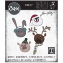 Sizzix Tim Holtz Thinlits - Winter Critters