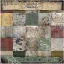 "Tim Holtz Paper Stash - 8"" x 8"" Departed"
