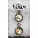 Tim Holtz Assemblage - Collage Domes