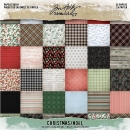 "Tim Holtz Paper Stash - 8"" x 8"" Christmas #2"