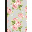 Webster´s Pages Color Crush Composition Planner Notebook - Gray Floral