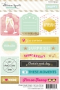 Webster`s Pages Sticker - #Happy Tag & Promt