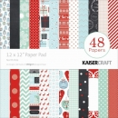 "Kaisercraft Paper Pad 12""x12"" - North Pole"