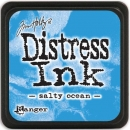 Mini Distress Ink Pad - Salty Ocean